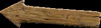 Seta de madeira