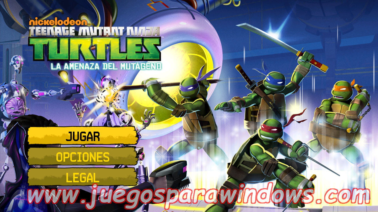Teenage Mutant Ninja Turtles Danger Of The Ooze Multilenguaje ESPAÑOL XBOX 360 (Region FREE) (iMARS) 2