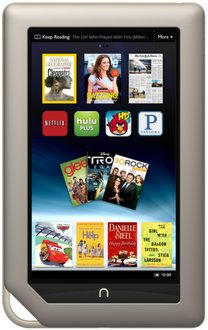 B&N Nook Tablet prices reduced, now starting at $179