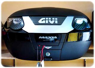 Box GIVI E55 Tech Maxia Italy=Rp 5.000.000,-