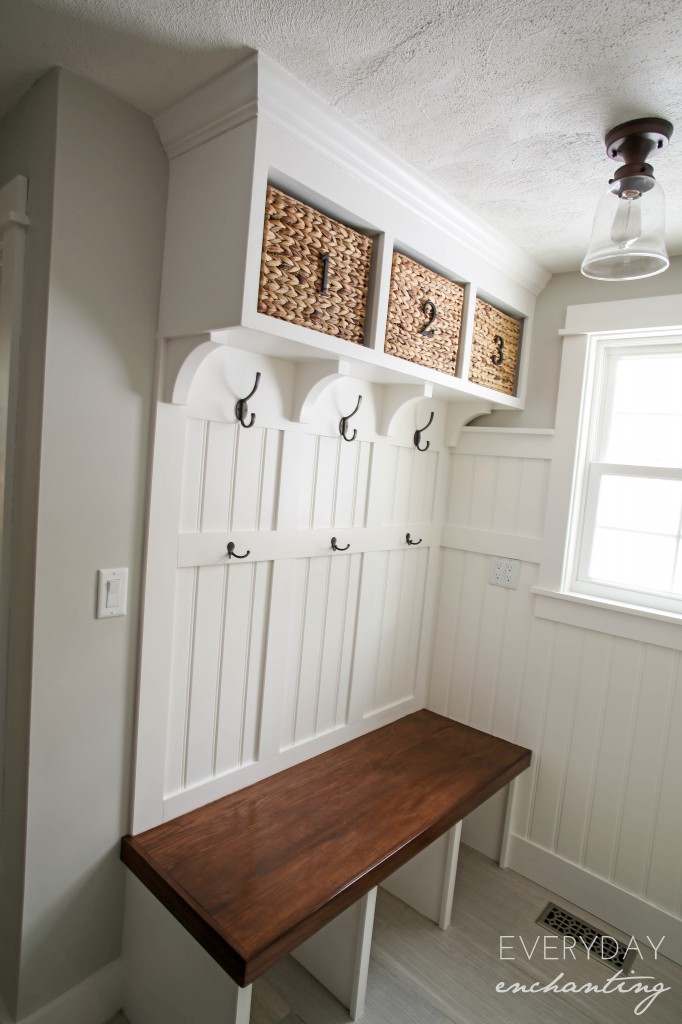 Laundry Room Makeover Mudroom