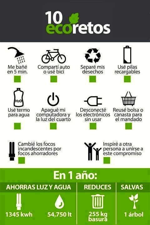 Consejos medio ambiente
