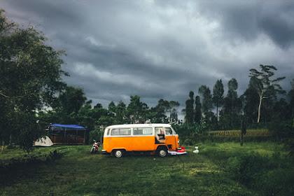 Embung Kledung: Suasana Camp Malam Tahun Baru