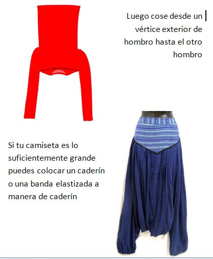 camisetas, refashion, transformar, pantalones, bricomoda, labores