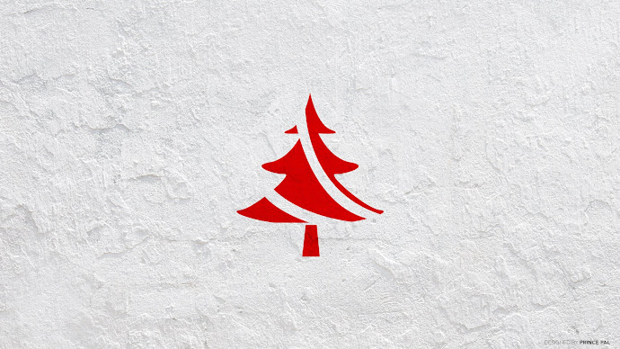 Wallpaper: Minimalist Christmas Tree