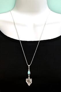 Apophyllite Rainbow  Moonstone Labradorite Sterling Silver Pendant Spiritual Diva Jewelry