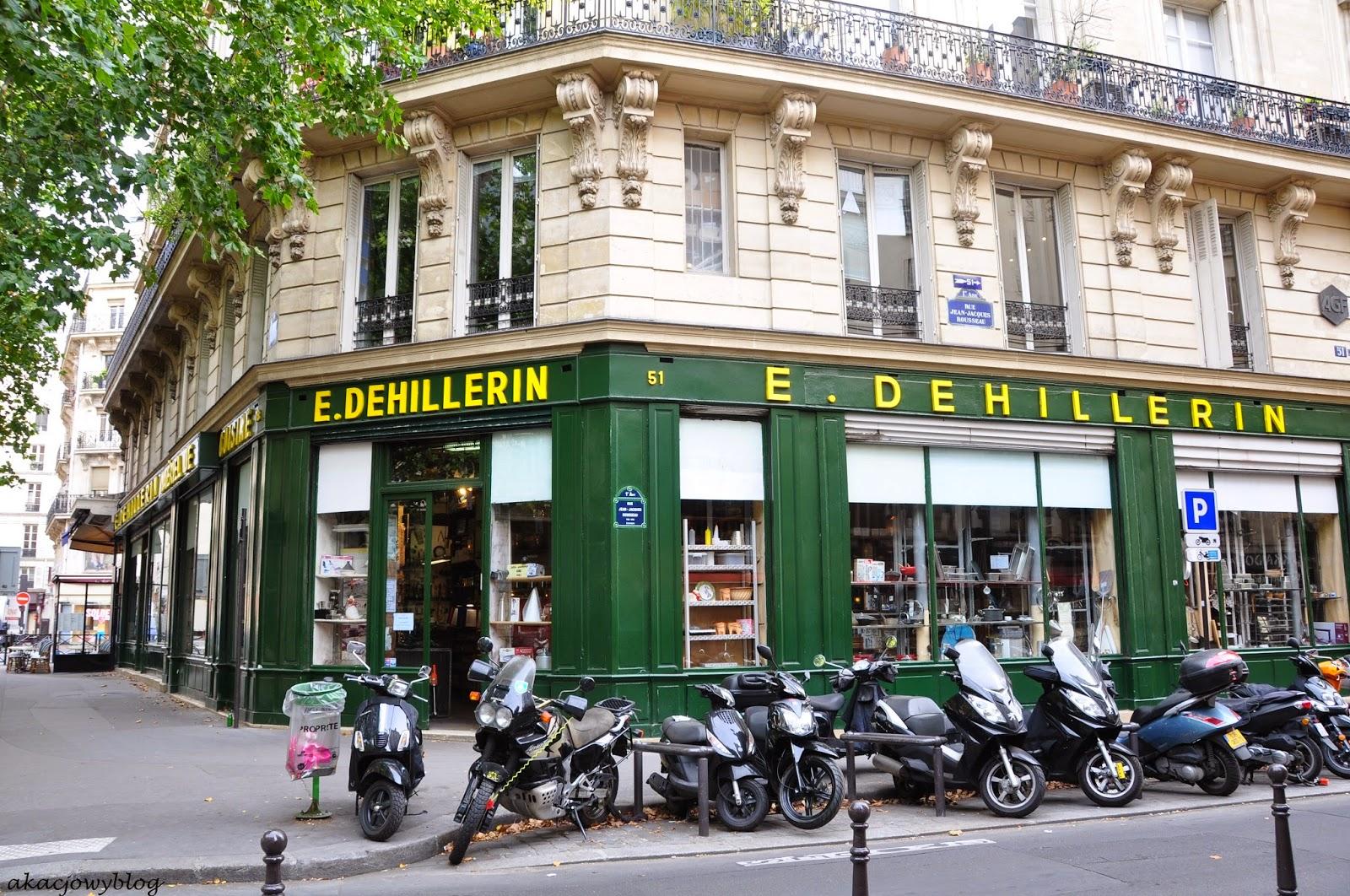Paryż - w sklepie E. Dehillerin.