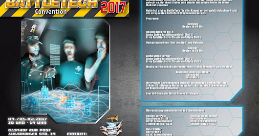 Indersdorfer Battletech Convention 2017 - Der Countdown läuft