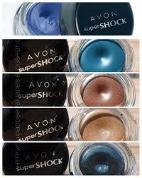 Delineador em Gel Super Shock Avon