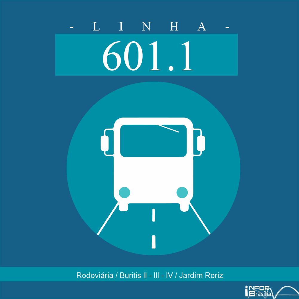 601.1 - Rodoviária de Planaltina / Buritis II, III, IV / Jardim Roriz
