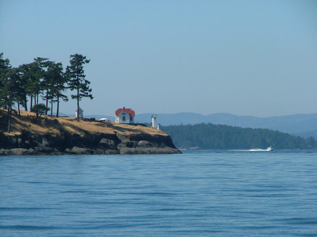 Turn Point Lighthouse on Stuart Island