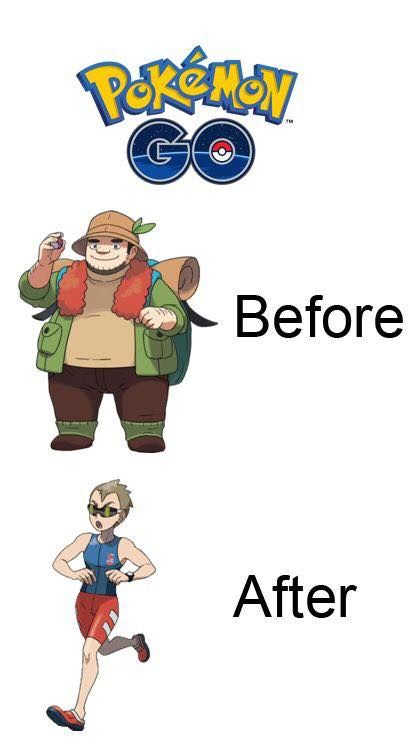 14 Pictures That Prove Pokemon Go Make Our Life Better 4