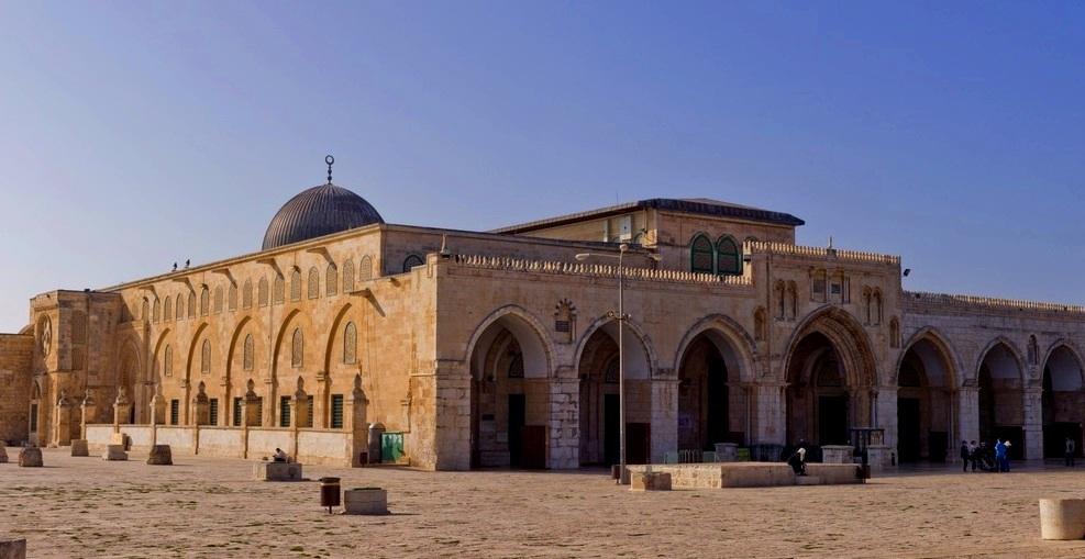Foto masjidil aqsa di Yerusalem Palestina Israel Isra Miraj