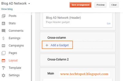 Create Menu Tabs In Blogger Blog 1