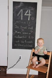 Tafelbild 14 Monate Brudi
