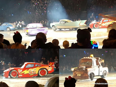 Disney On Ice  worlds Of Enchantment Cars cast on the ice