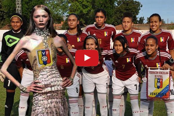 Jugadoras venezolanas de fútbol están severamente desnutridas