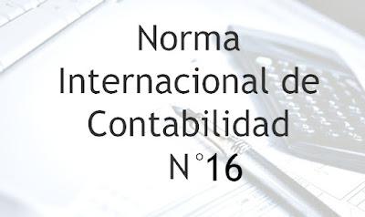NIC N° 16 - Tratamiento Contable de Propiedad, Planta y Equipo [VIDEO]