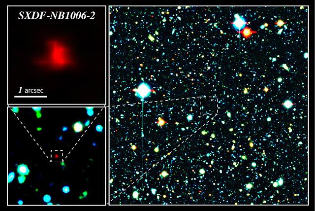 ALMA observes most distant oxygen ever
