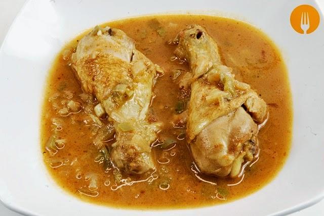 receta pollo curry casero
