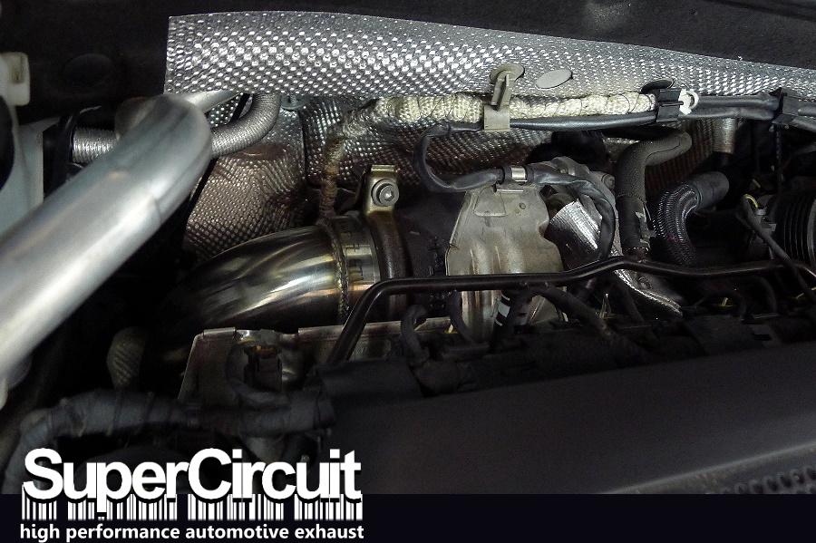 SUPERCIRCUIT Exhaust Pro Shop: Volkswagen Golf Mk7 GTI Downpipe