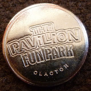 Token from The Pavilion Fun Park in Clacton-on-Sea, Essex