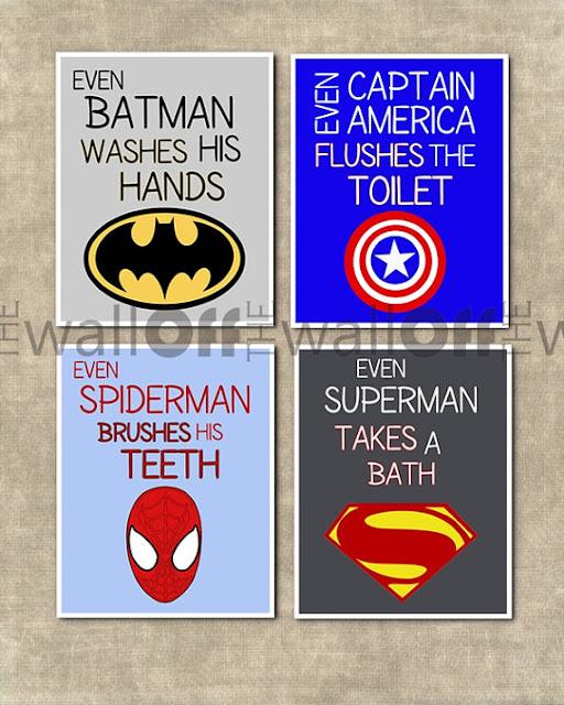 Superman Bathroom Decor: 30 Superhero Ideas On Etsy