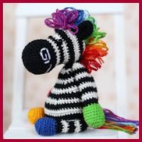 Cebra arco iris