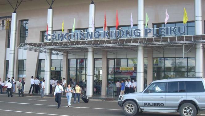 Gia Lai: Xử phạt người gây náo loạn sân bay Pleiku vì bênh bạn gái