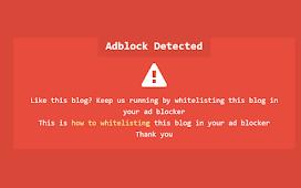 Adblocker Adsense Notification for Kompi Ajaib