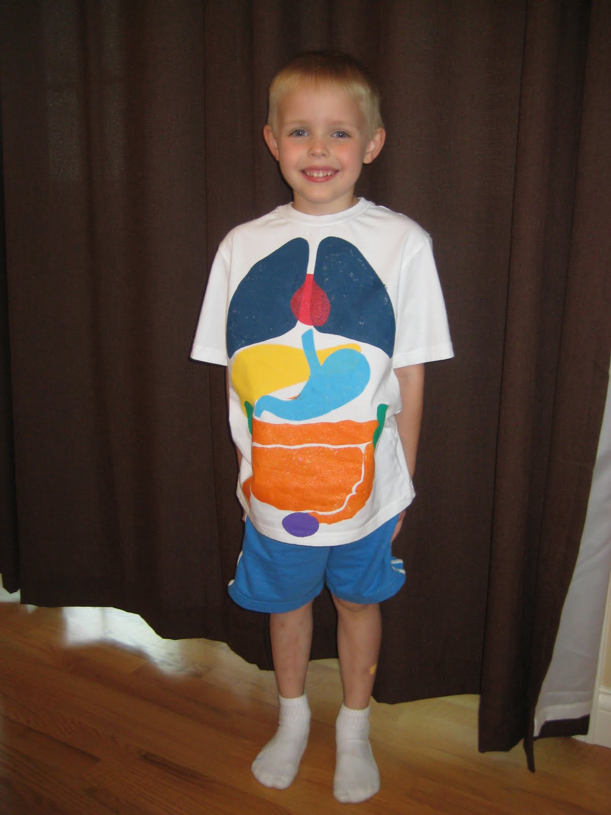 Relentlessly Fun Deceptively Educational Paint Your Organs Shirt And Printable Body Book