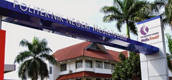 Informasi Pendaftaran Mahasiswa Baru (POLIMEDIA) Politeknik Negeri Media Kreatif Jakarta 2018-2019