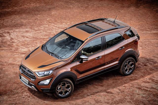 Ford EcoSport 2018 - taxa zero