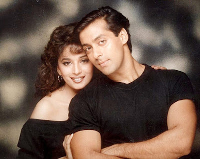 Top Salman Khan and Madhuri Dixit Hd Wallpapers