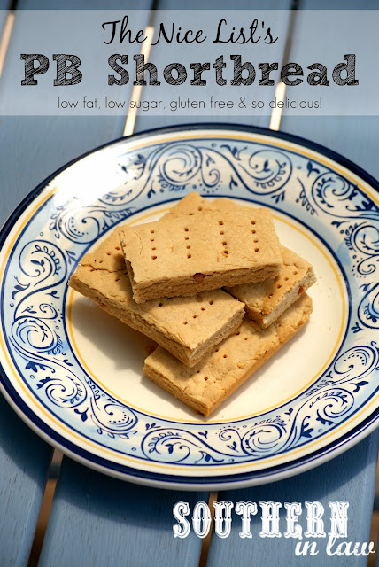 Healthy Peanut Butter Shortbread Recipe - Gluten Free, Low Sugar
