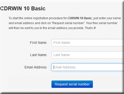 Get CDRWIN 10 Basic With Free And Legal License Key