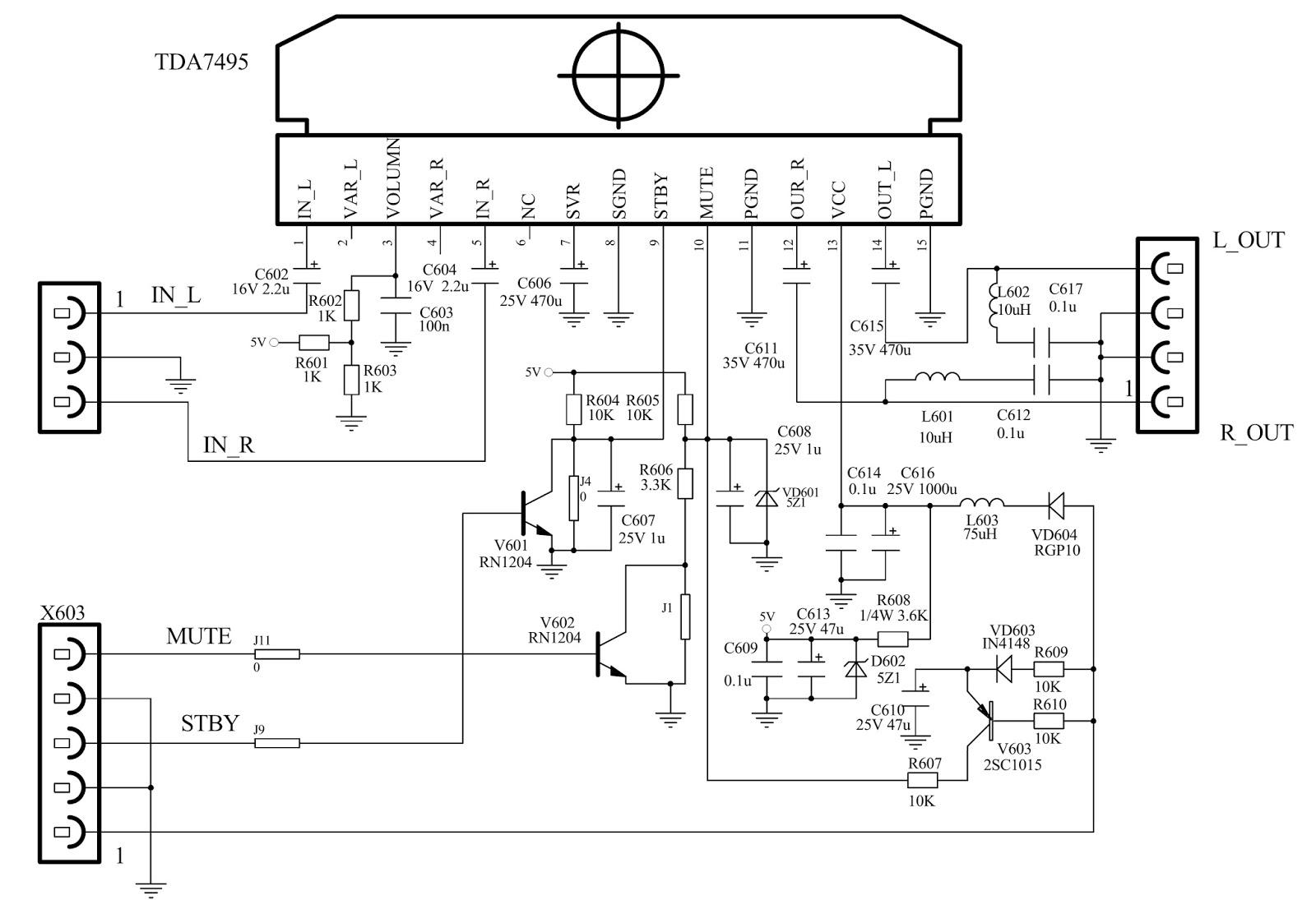 t con board schematic diagram
