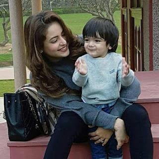 Aamna sharif,wedding,husband,baby boy,son,baby,marriage, age,mother name