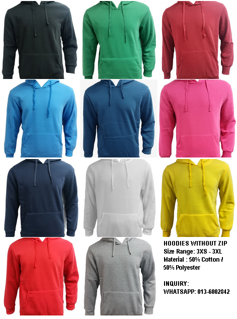 Hoodies t shirt supplier media heattransfer textile in for T shirt supplier wholesale malaysia