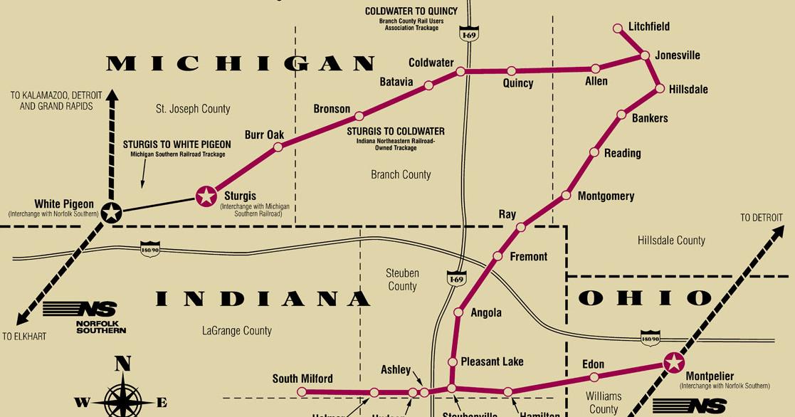 Dátumové údaje lokalít Elkhart Indiana