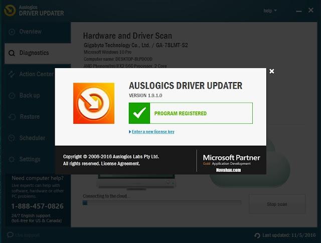 Auslogics Driver Updater 1.9.1 Crack