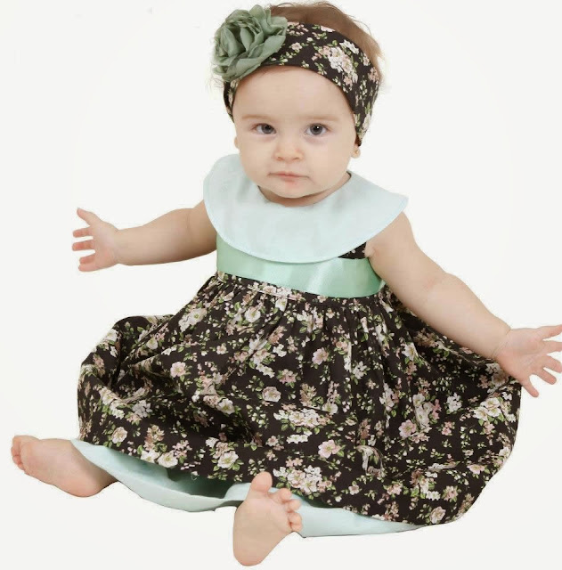 modelo de vestido para bebê - foto