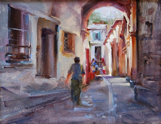Художница-импрессионист. Michele Usibelli