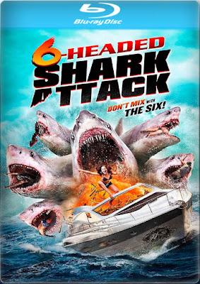 6-Headed Shark Attack [2018] [BD25] [Latino]