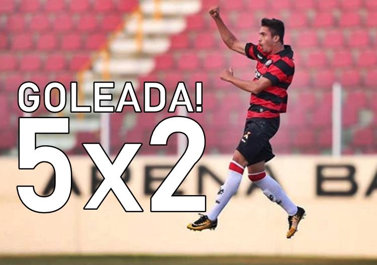 Vitória goleia o Atibaia SP com show de Luan na Copa São Paulo; Assista os gols 1