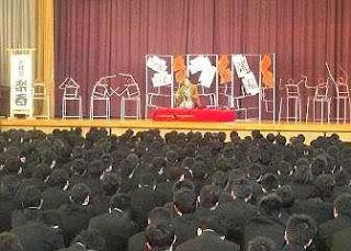 三遊亭楽春講演会 「伝統芸能の落語から学ぶ、表現力とコミュニケーション」