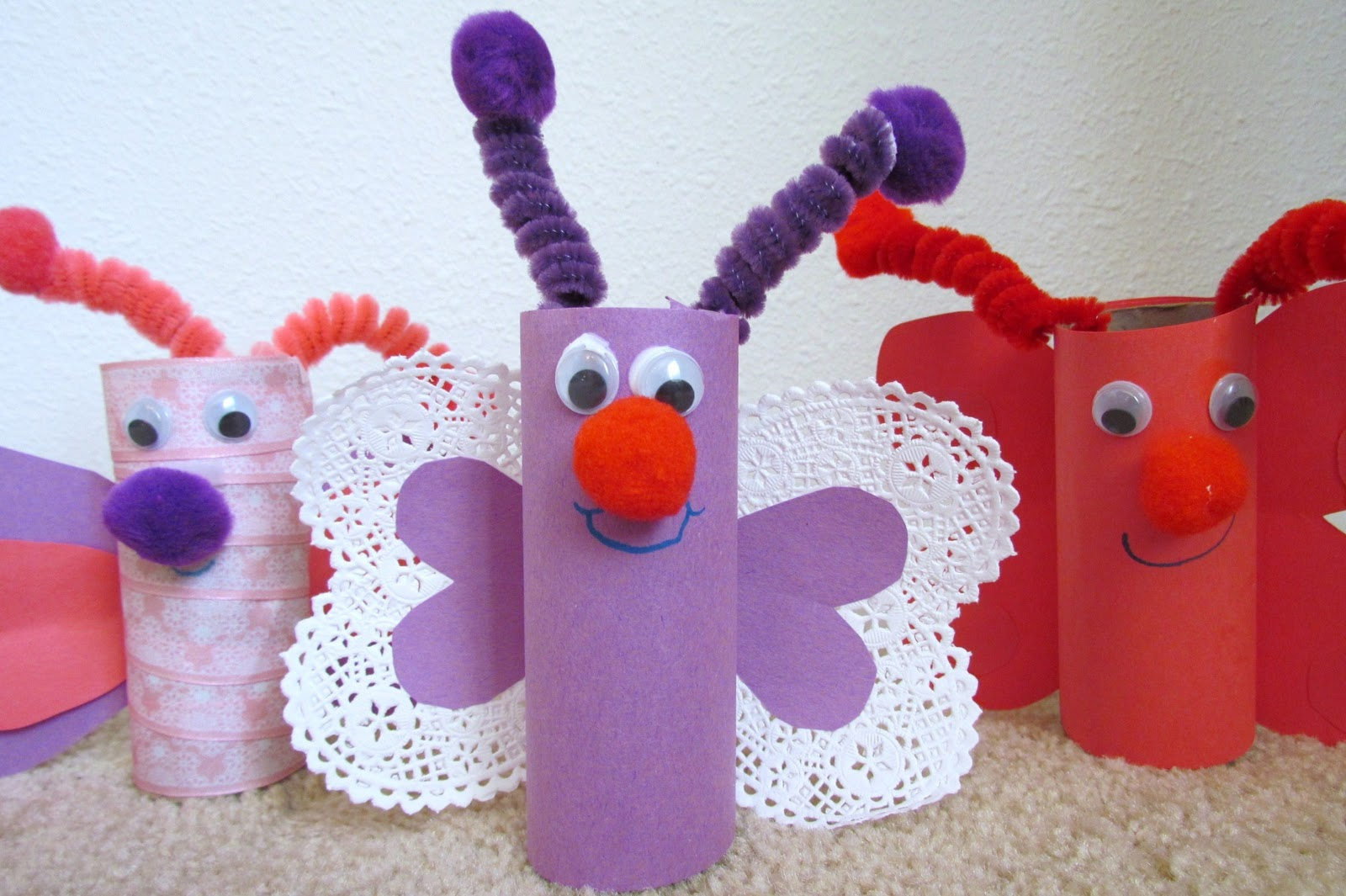 Toilet Paper Roll Crafts Valentine Craft Paper