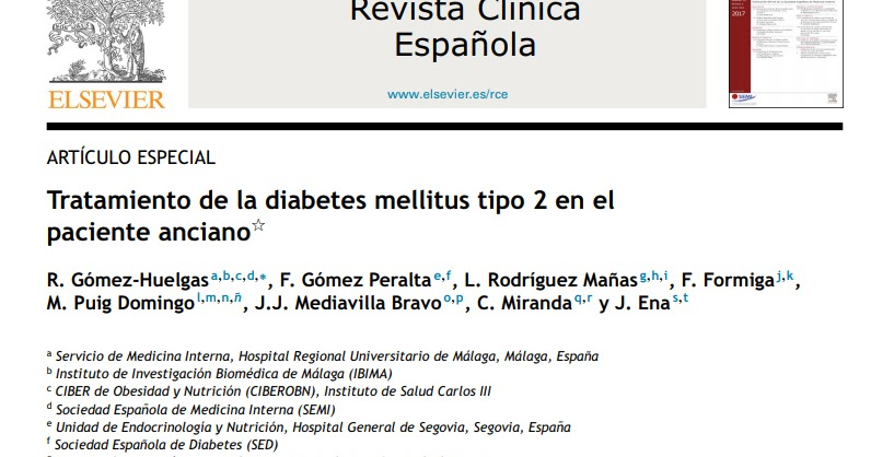 artículos de revistas clínicas de endocrinología clínica y diabetes