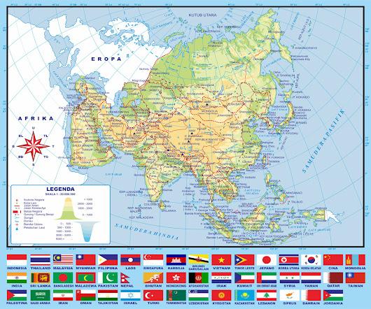 Download Gratis Peta Asia Tenggara Vektor Nama File Gambar