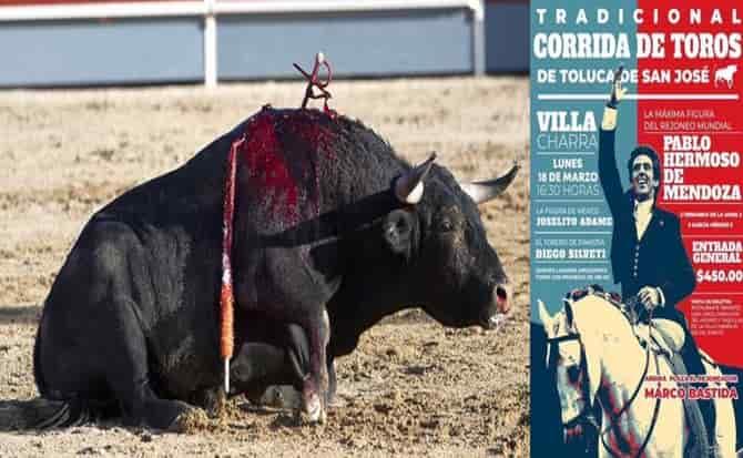 Eventos, toreros, maltrato